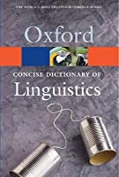 The Concise Dictionary of Linguistics