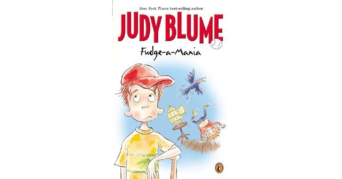 judy blume fudge a mania book report Literacy skills teacher's guide for 1 of 3 fudge-a-mania by judy blume book information judy blume, fudge-a-mania quiz number: 5220 dell,1991 isbn 0.