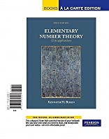 Elementary Number Theory & Its Applications