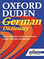 Oxford Duden German Dictionary CD-ROM