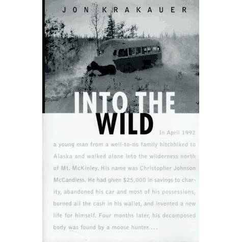 good thesis for into the wild Free into the wild papers, essays, and research papers book into wild essays] 409 words (12 pages) good essays: analysis of into the wild.