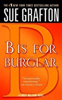 B is for Burglar (Kinsey Millhone, #2)