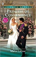 Princess Of Convenience (Harlequin Romance)