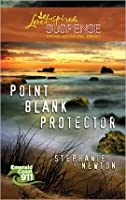 Point Blank Protector (Steeple Hill Love Inspired Suspense #241) (Emerald Coast 911 #5)