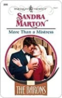 More Than a Mistress (Harlequin Presents)