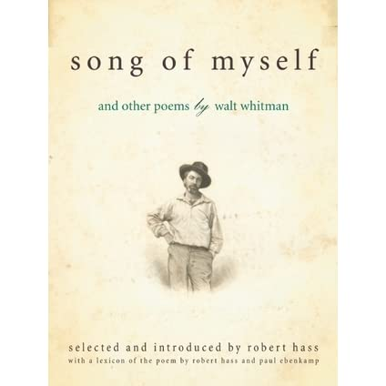 a review of walt whitmans poem song of myself Find helpful customer reviews and review ratings for song of myself  at amazoncom online modern poetry class walt whitman has something to say.