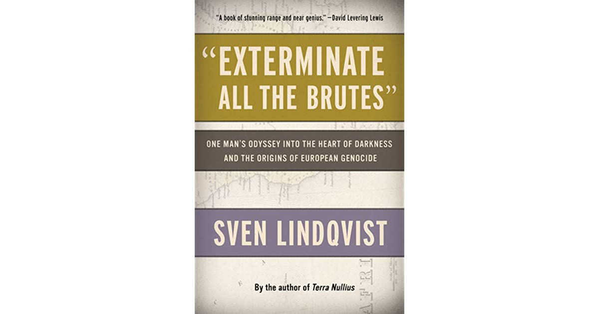 summary of exterminate all the brutes All about desert divers by sven lindqvist  and references obliquely some of the work he did in exterminate all the brutes  haiku summary book descriptions.
