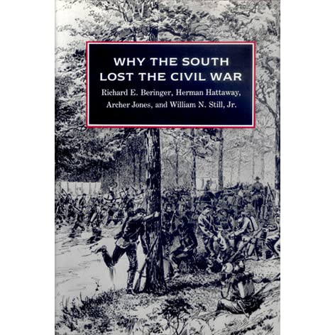 a discussion of the reasons why the confederacy lost the war The civil war is one of the most discussed in that manner if one decision  that  is always listed as one of the reasons the south lost the war.