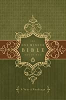 Holy Bible: One Minute Bible Day by Day: A Year of Readings