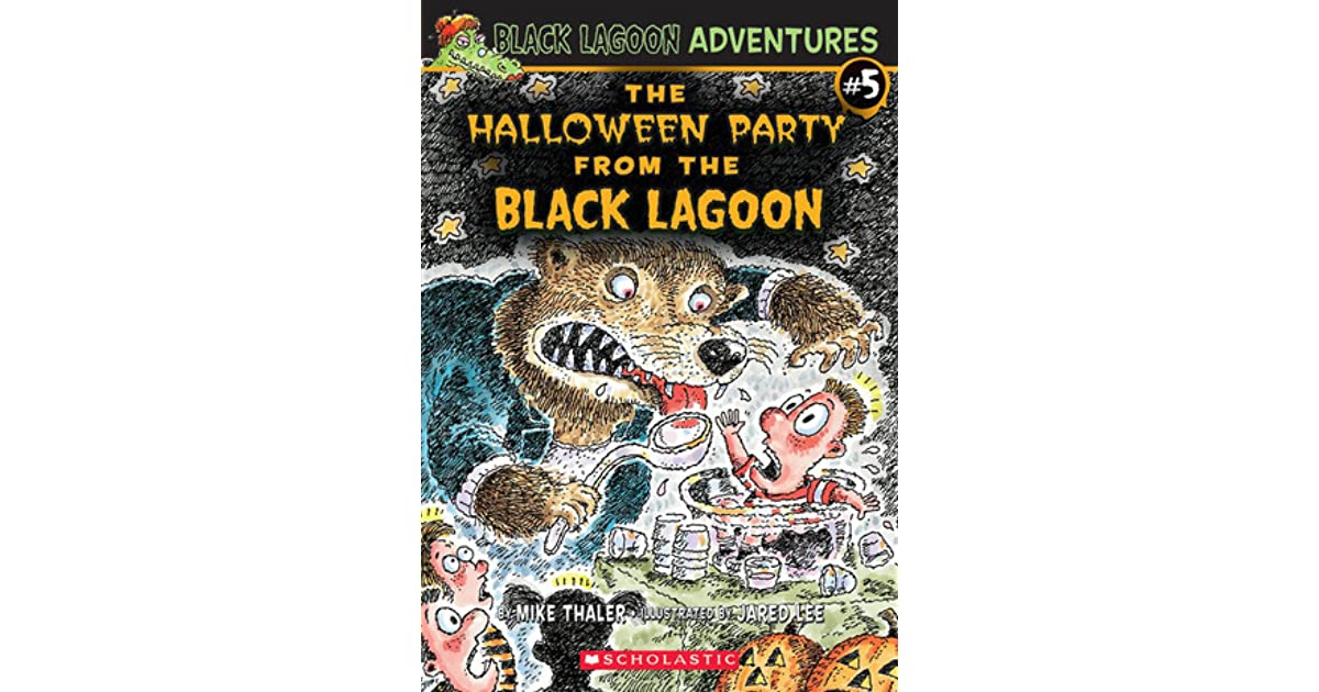 Black Lagoon Book Cover ~ The halloween party from black lagoon by mike thaler
