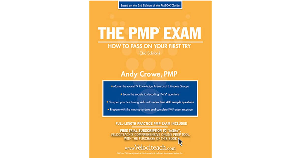 andy crowe pmp book free 4th edition