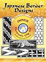 Japanese Border Designs CD-ROM and Book