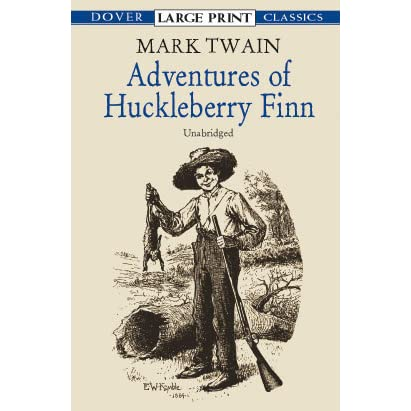 an analysis of mark twains book the adventures of huckleberry finn Mark twain explains his writing techniques in how to tell a story the narrator of twain's book the adventures of huckleberry finn uses several of these.