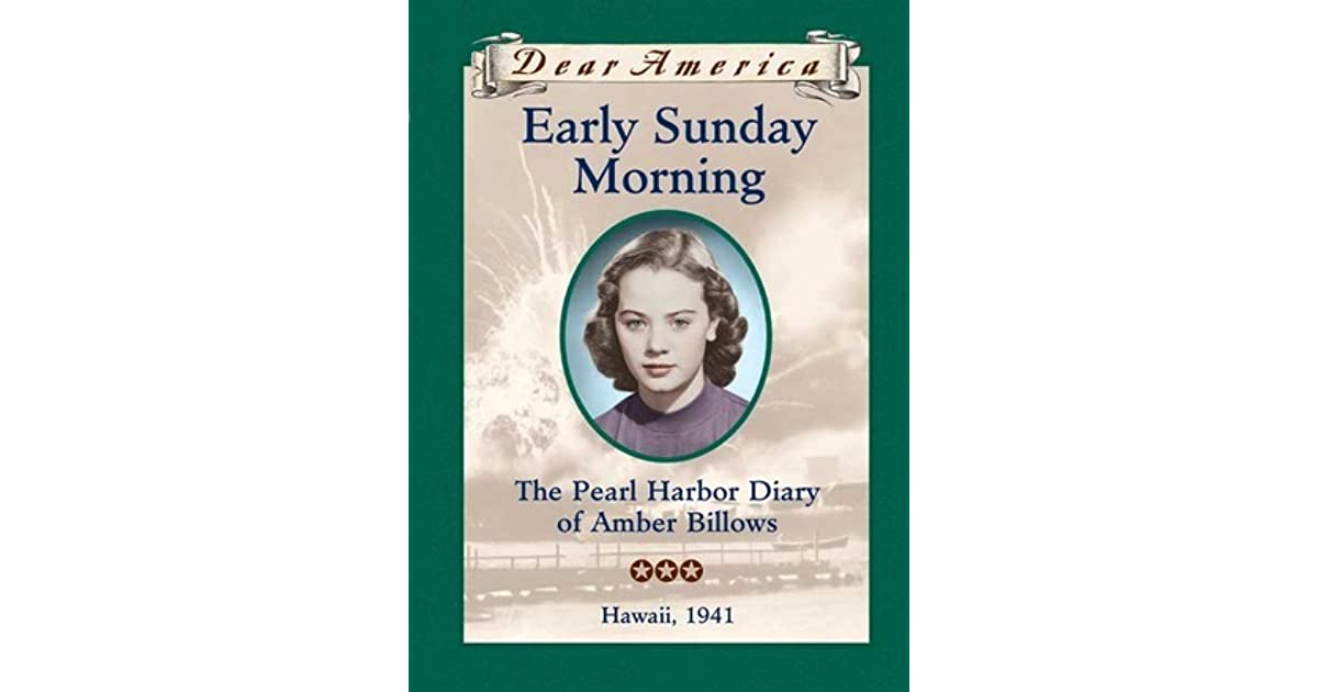 amber billows in early sunday morning The novel early sunday morning was about a twelve-year-old girl named amber billows her father is a journalist and her family relocates quite a bit.
