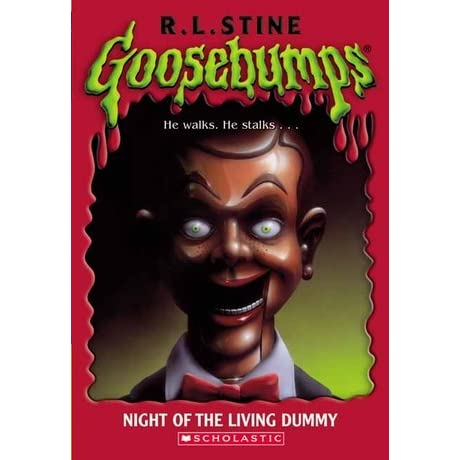 Image result for night of the living dummy goosebumps cover