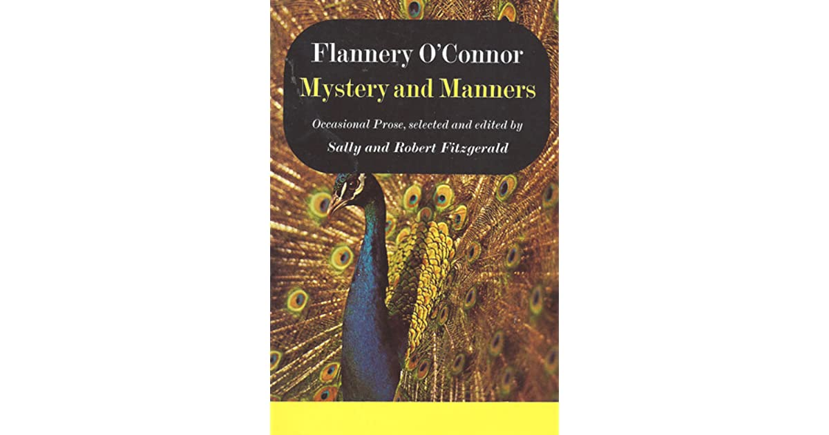 flannery o connor mystery and manners pdf