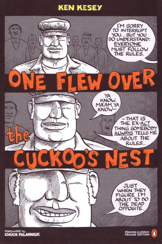 """a review of ken keseys novel novel one flew over the cuckoos nest Free essay: ken kesey's one flew over the cuckoo's nest the theme of this story """"one flew over the cuckoo's nest"""" according to daniel woods is """"power is the."""