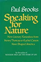 Speaking for Nature