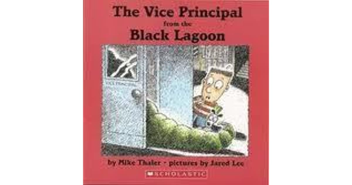 Black Lagoon Book Cover ~ The vice principal from black lagoon