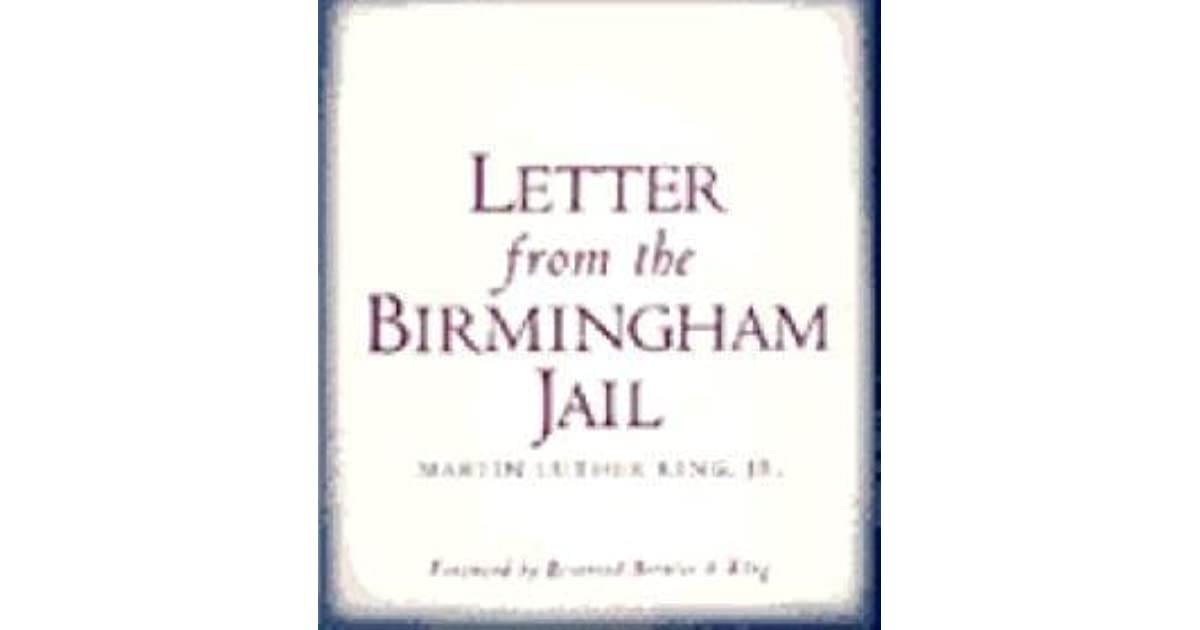 Quotes From Mlk Letter From Birmingham Jail: Letter From The Birmingham Jail By Martin Luther King Jr