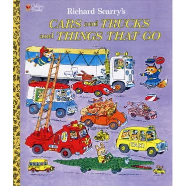 Richard scarry cars and trucks and things that go
