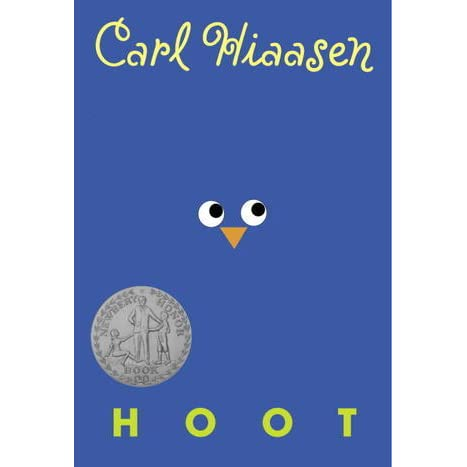 the summary and major characters of hoot by carl hiaasen