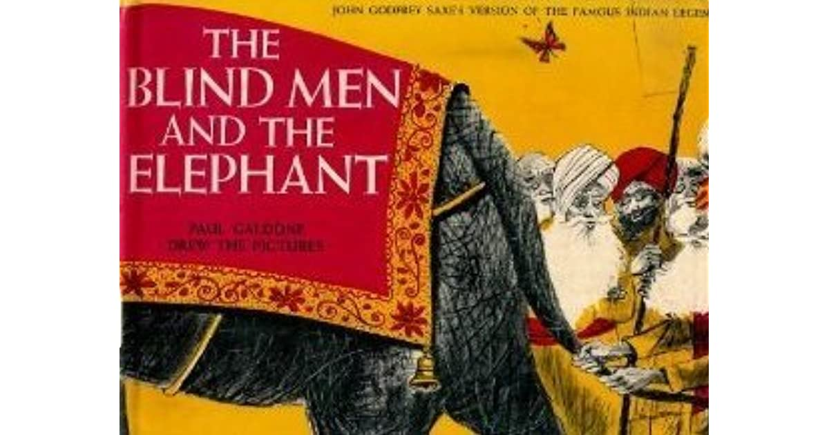 Blind men and an elephant