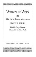 Writers at work : the Paris review interviews, second series