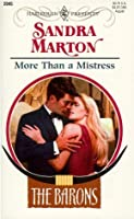 More Than a Mistress (The Barons, #2)