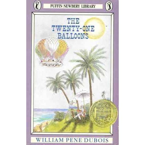 the twenty one balloons book report William pene du bois' the twenty-one balloons relates the peculiar  both  books are set in the early days of american settlement, and both.