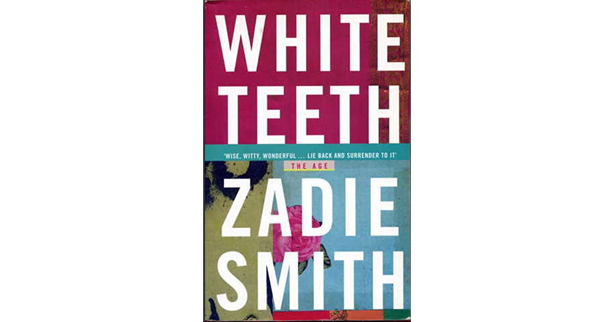 White Teeth Book Cover : White teeth by zadie smith — reviews discussion