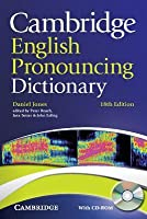 Cambridge English Pronouncing Dictionary with CD-ROM