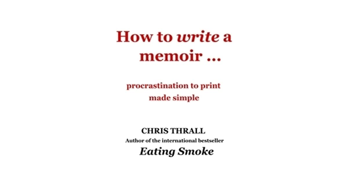 The Key Elements of Writing a Good Memoir
