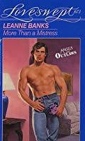 More Than a Mistress (Loveswept, #673)