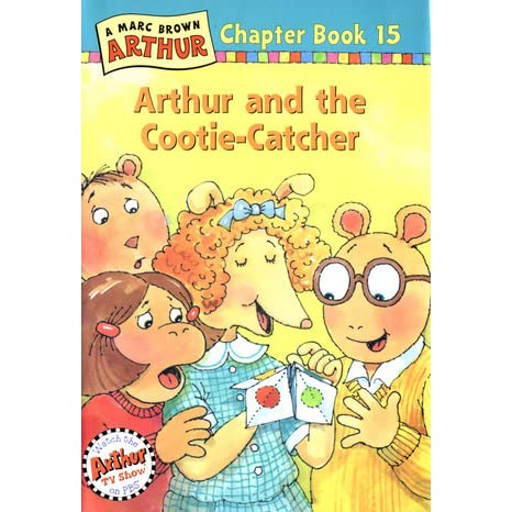 Arthur And The Cootie Catcher Arthur Chapter Book 15 By Marc Brown Reviews Discussion