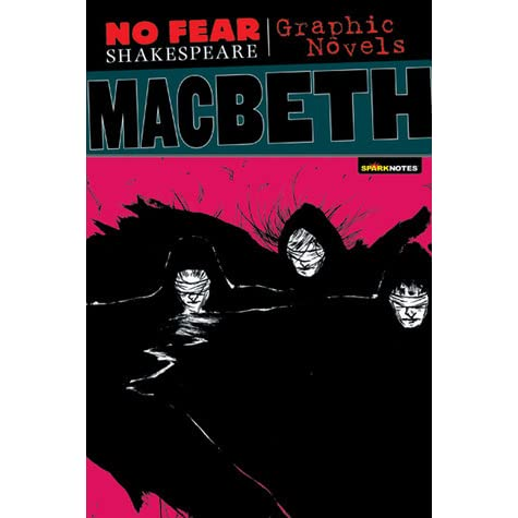 Macbeth (No Fear Shakespeare Graphic Novels) by Ken Hoshine ...