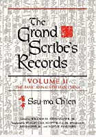 a study of the han dynasty in the words of sima qian Redeeming sima qian han dynasty i, han completes his earlier volumes on the han it is clear that sima qian wrote much ofhis history ofthe first century.