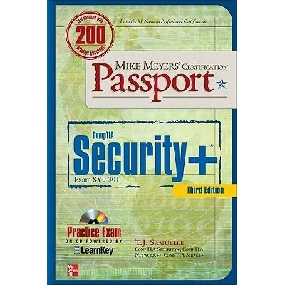 Mike Meyers Comptia Security Certification Passport 3rd