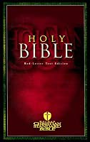 Holy Bible: Holman Christian Standard Bible - Red Letter Text Edition