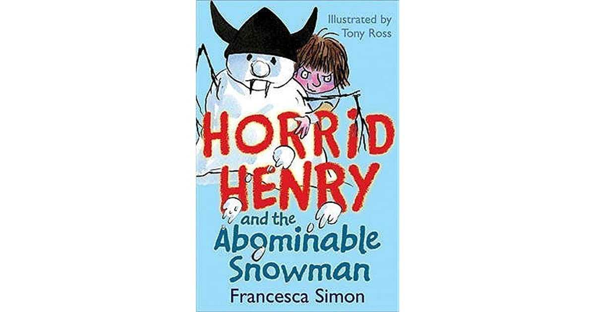 horrid henry abominable snowman book review