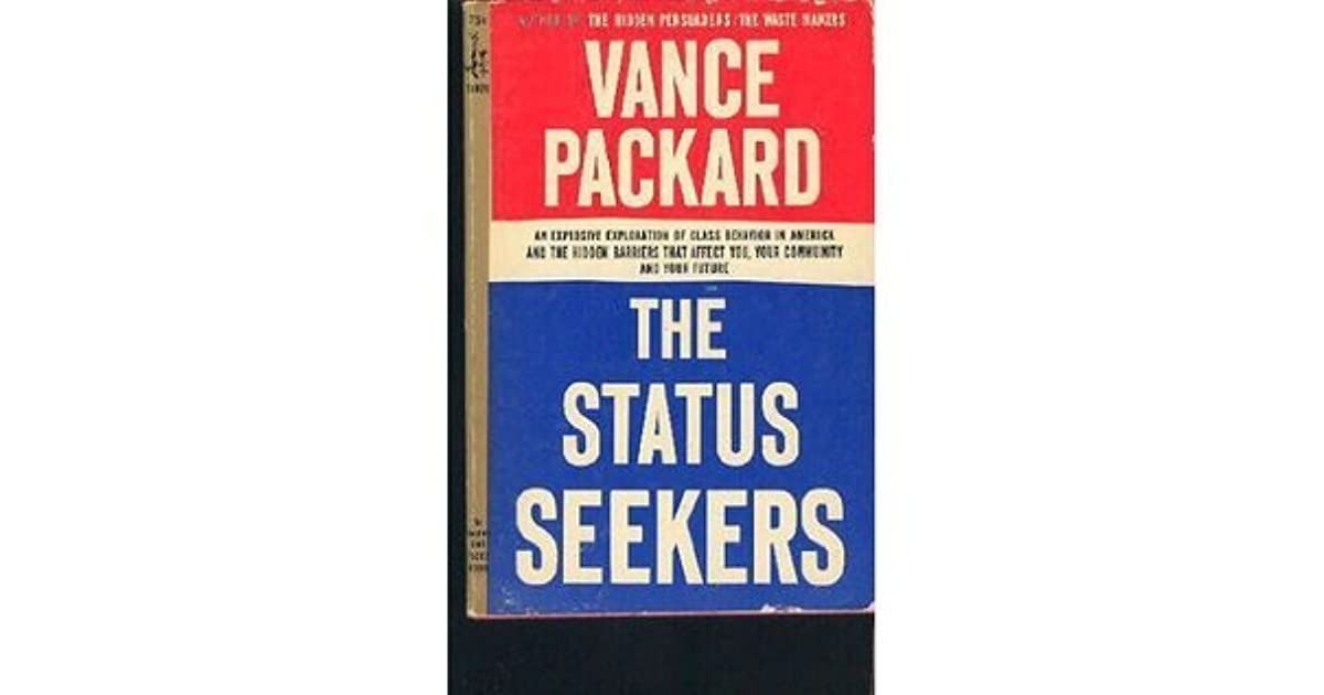 vance packard status seekers