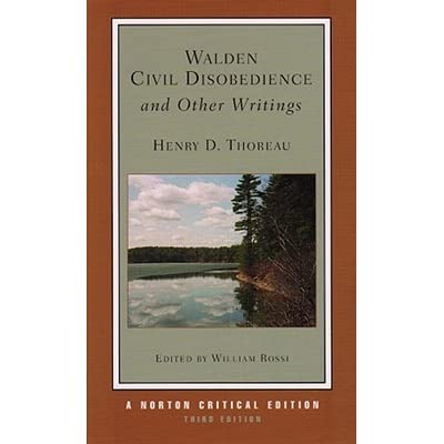 thoreau essays civil disobedience