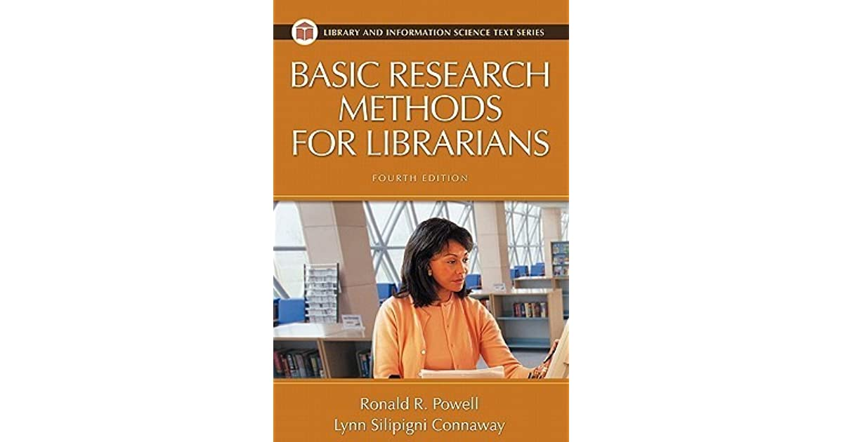 [PDF] Basic Research Methods For Librarians Contemporary ...