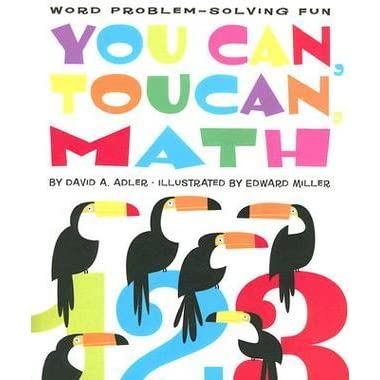 math worksheet : you can toucan math word problem solving fun by david a adler  : Poem Math Addition Subtraction Multiplication Division