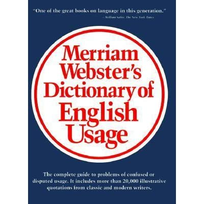 publisher of merriam webster dictionary