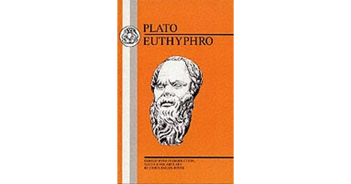 a review of euthyphro a book by plato One of plato's well-known socratic dialogues, euthyphro probes the nature of piety, and notably poses the so-called euthyphro dilemma: do the gods love a thing because it is holy, or is a thing.