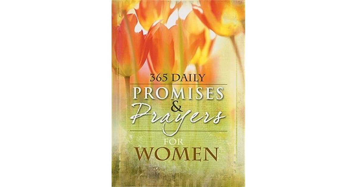 365 daily promises amp prayers for women by freeman smith