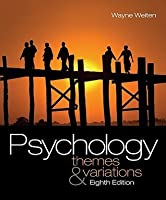Psychology: Themes and Variations (with Concept Charts)