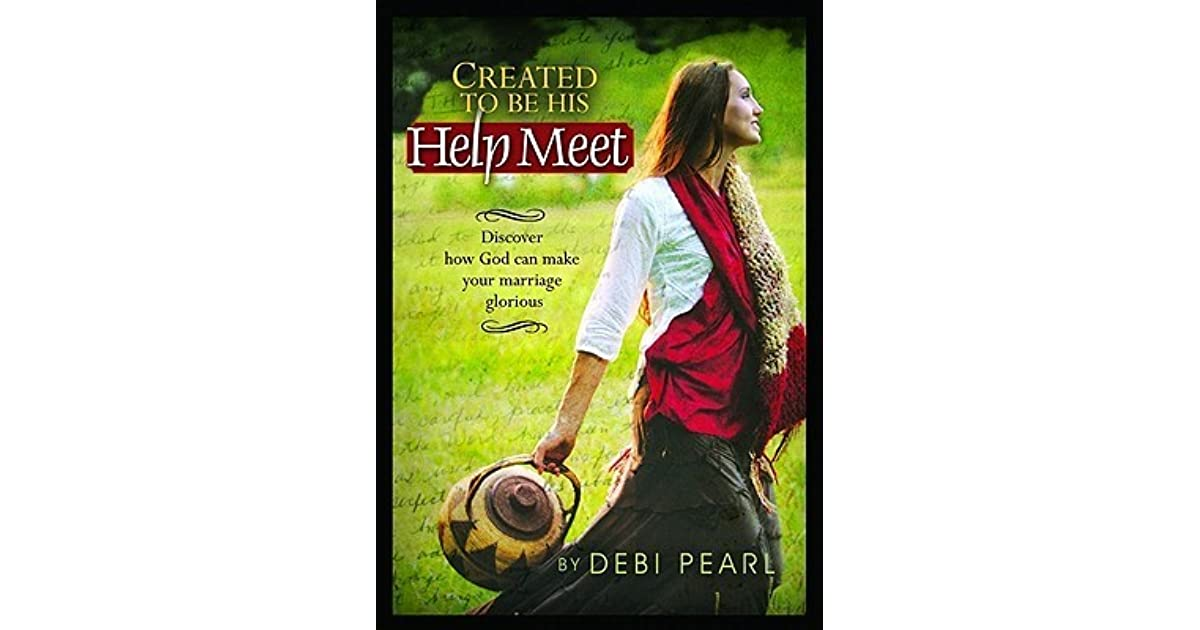 created to need a help meet book