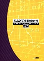 Saxon Math 8/7: Home School